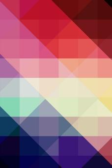 现代时尚菱形几何梦幻背景图片