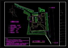 农贸市场绿化规划图纸
