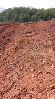 武夷岩茶生长土壤图片