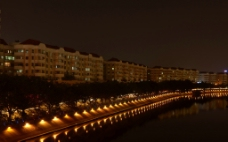 东莞运河夜景图片
