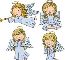 金发天使女孩图片