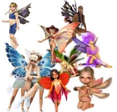 飞舞的天使图片