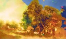 自然风景油画