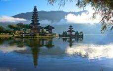 巴厘岛水神庙图片