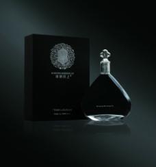酒瓶 酒盒黑色圖片
