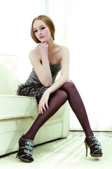 高清人物写真 美女丝袜图片