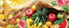 新鲜水果图图片