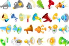 喇叭 立体 扬声器