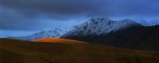 新西兰高原山脉图片