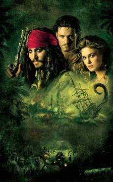 加勒比海盗2图片
