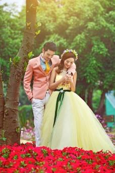 2014婚纱样图片