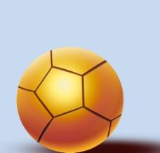 黄金足球图片
