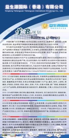 业务规划展板设计