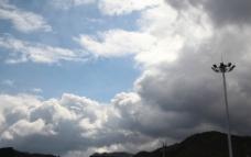 雨后白云图片