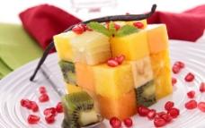 唯美水果沙拉图片