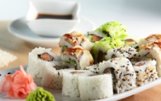 唯美寿司图片