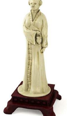 3D古代女性人物雕刻模型素材