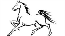 马矢量图片