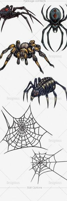 蜘蛛 纹身图案