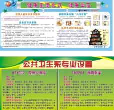 绿色学校健康教育展板