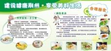 健康饮食教育宣传栏