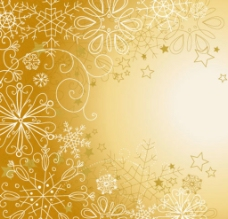 梦幻星光圣诞背景图片