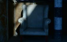 旧沙发图片