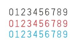 发票号码 通用字体