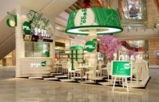 时尚茶饮店3D模型