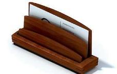 精美名片盒3D模型