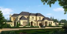 别墅环境设计图片