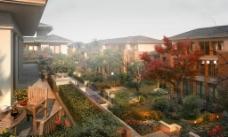 别墅庭院环境设计图片