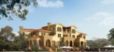别墅环境景观设计图片