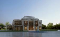 别墅景观设计效果图片