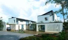 别墅景观环境设计图片