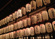 日式灯笼图片