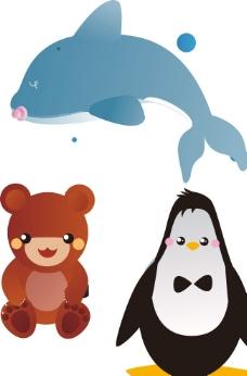 海豚 企鹅图片