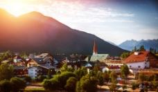 村庄风景图片