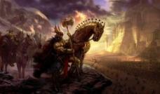 骑兵原画图片