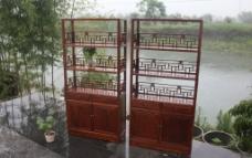 三层书架组合图片