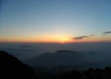 泰山日出图片