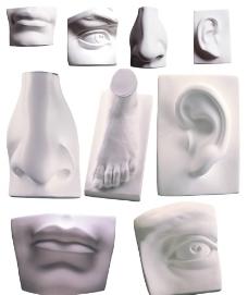 石膏像图片