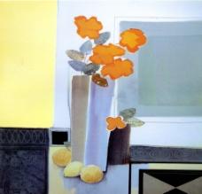 花卉花瓶油画图片