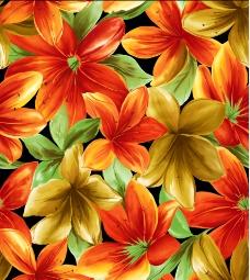 唯美花朵矢量背景素材