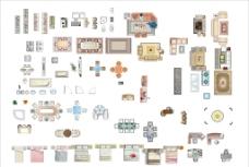 家具平面图片