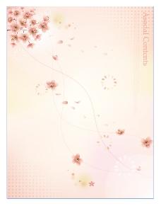 矢量花广告背景设计素材ai源文件模板