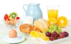 营养早餐搭配图片