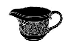 耀州窑镂空茶具图片