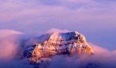 唯美祖山云海图片