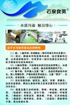 水污染海报图片